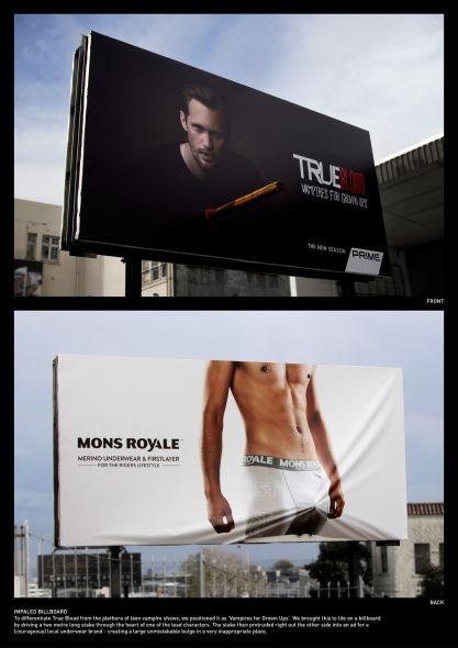 True Blood: Impaled Billboard