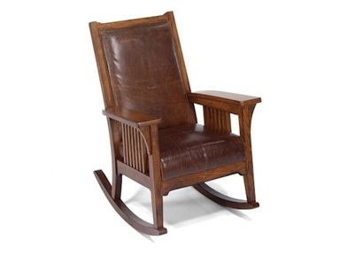 Rocker Chair Wood Finish As Shown Comes Standard With Luxury Cushion Available In Fabric