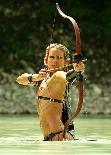 Are mistaken. Sexy nude female archers are absolutely