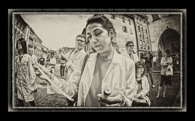 Portrait of a #scientist as a young woman #pavia
