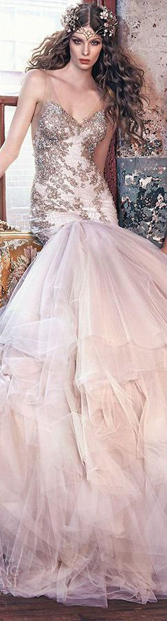 Galia Lahav Bridal Spring 2016 Wedding Dress // Pinned by Dauphine Magazine x Castlefield - Curated by Castlefield Bridal & Branding Atelier and delivering the ultimate experience for the haute couture connoisseur! Dauphine Magazine (luxury bridal and fashion crossover): www.dauphinemagazine.com, @dauphinemagazine on Instagram, and @dauphinemag on Pinterest • Visit Castlefield: www.castlefield.co and @ castlefieldco on Instagram / Luxury, fashion, weddings, bridal, style, art, design, jewelry: