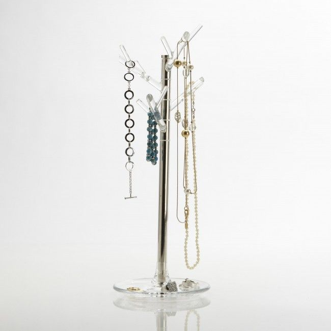 Keep your jewelry organized and easy to see with the Umbra Icelet Jewelry Stand.