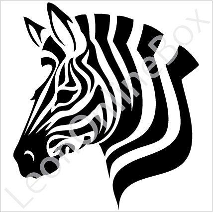 Zebra Silhouette Google Search Silhouette Stencil