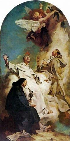 Tre santi domenicani. 1738. Gesuati
