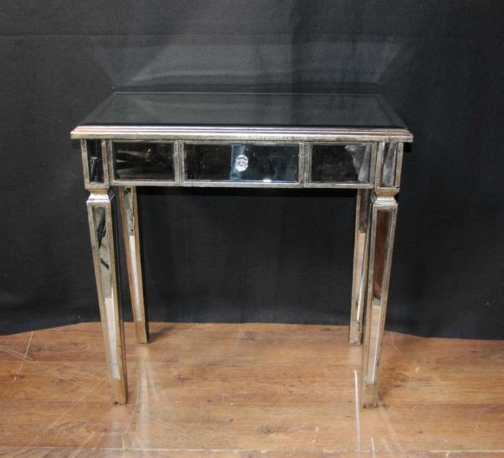 Gentil Photo Of Art Deco Mirrored Console Table Hall Tables