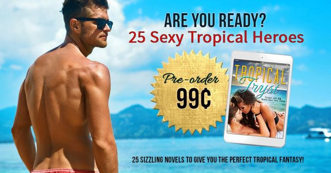 TROPICAL TRYST Escape with these 25 brand new and exclusive sexy reads from NY Times USA Today and International bestselling authors. This set is perfect for romance lovers of all kinds. Offering up passionate and enticing tales set in hot and tropical settings this collection will feed your need for summer sexiness!   Featured Authors   SEAL My Love by NY Times Bestselling author Sharon Hamilton Swept Away by International & USA Today Bestselling author Nicole Morgan Tempting James by…