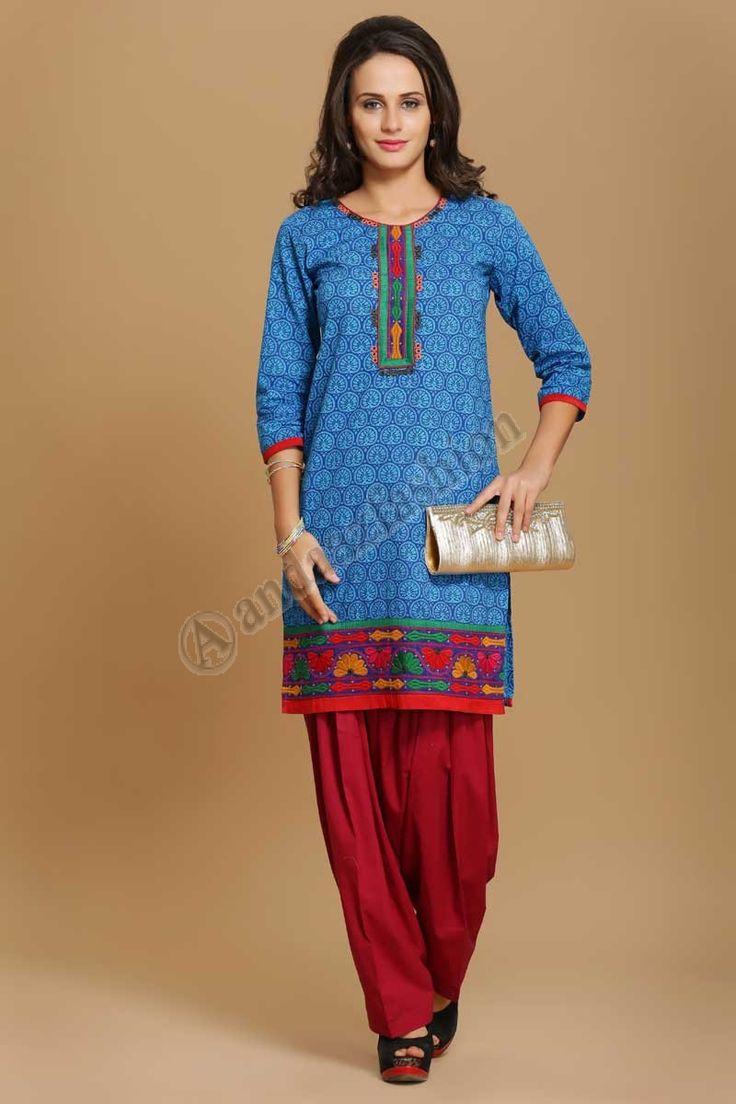 17 best Cotton Kurti images on Pinterest | Tunics, Style clothes ...