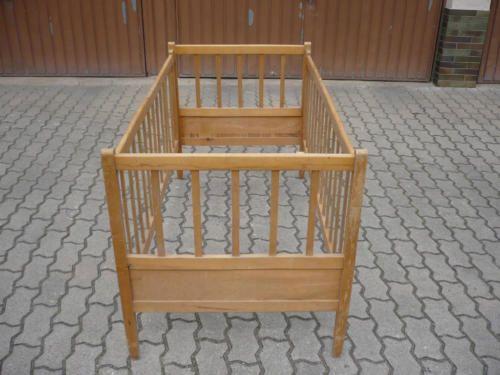 Antikes Kinderbett aus Holz in Bayern - Bad Kissingen | Babywiege gebraucht kaufen | eBay Kleinanzeigen