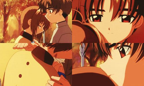 "Photo of a beatiful moment for fans of ""Shaoran X Sakura"" true love. so beatiful and romantic"