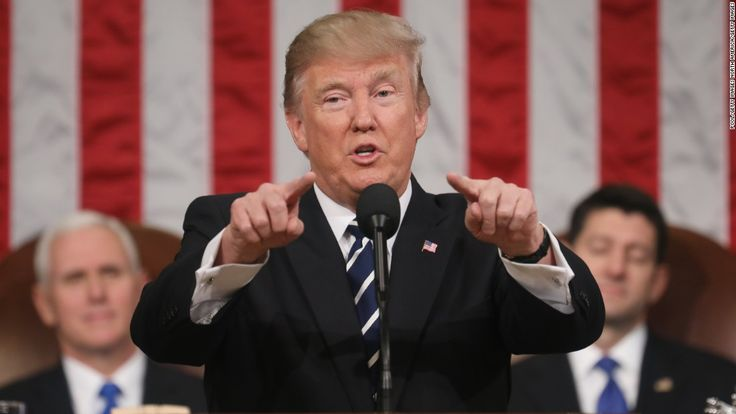 President Donald Trump showed his aspirational side Tuesday night. But he also made several promises without offering specifics to Congress