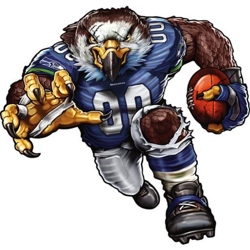 203 Best Images About Nfl Art Seattle Seahawks On
