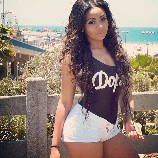 Dope girl swag