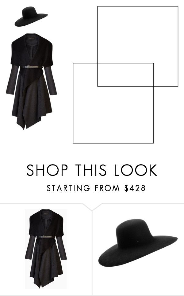 """""""3"""" by valentina-badeanu on Polyvore featuring BCBGMAXAZRIA and Maison Michel"""