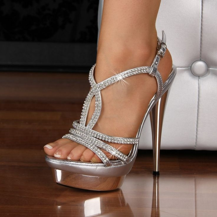 Best 25  Silver heels prom ideas on Pinterest | Prom shoes silver ...