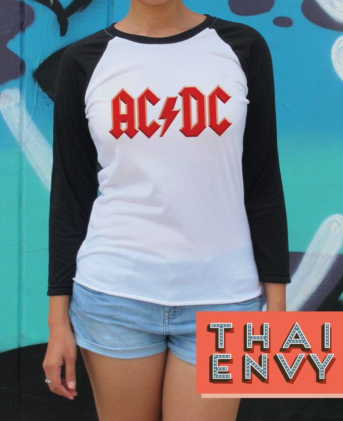 Acdc T Shirt Womens