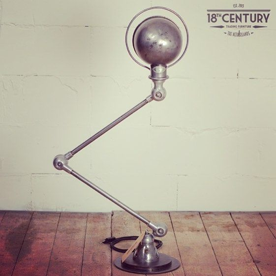 Jieldé, industriële franse werklamp.  Bekijk ons gehele aanbod in de winkel of webshop