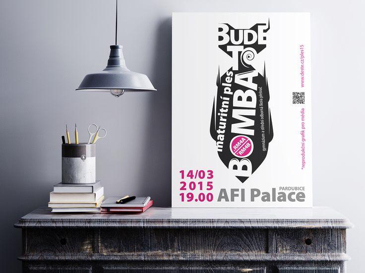Bomba, a poster from Milan Drobek