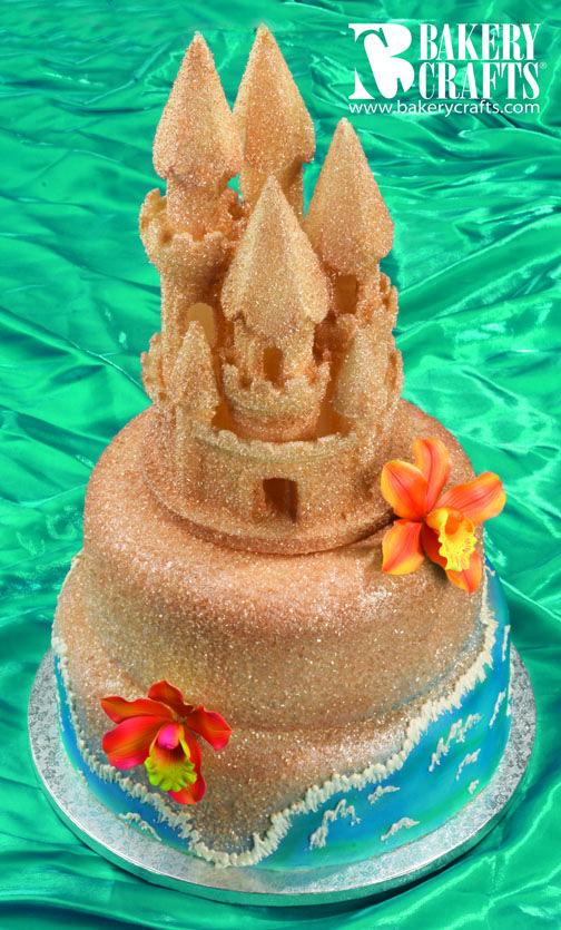 Sand Castle Cake