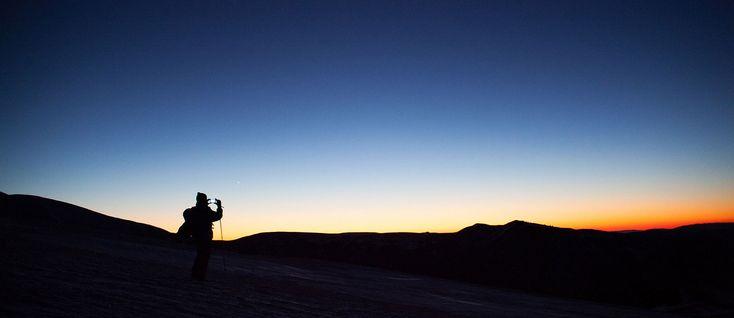 panorama tramonto sassotetto