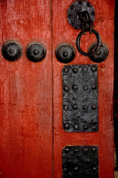 korean palace #doors #red