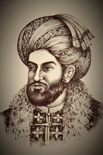 Ahmad Shah Baba.JPGAhmad Shāh Durrānī (c. 1722– 16 October 1772) (Pashto: احمد شاه دراني), also known as Ahmad Khān Abdālī (Pashto, Dari, Arabic, Urdu: احمد خان ابدالي), was the founder of the Durrani Empire and is regarded as the founder of the modern state of Afghanistan.[1][2][3][4] He began his career by enlisting as a young soldier in the military of the Afsharid kingdom and quickly rose to become a commander of the Abdali Regiment, a cavalry of four thousand Abdali Pashtun soldiers
