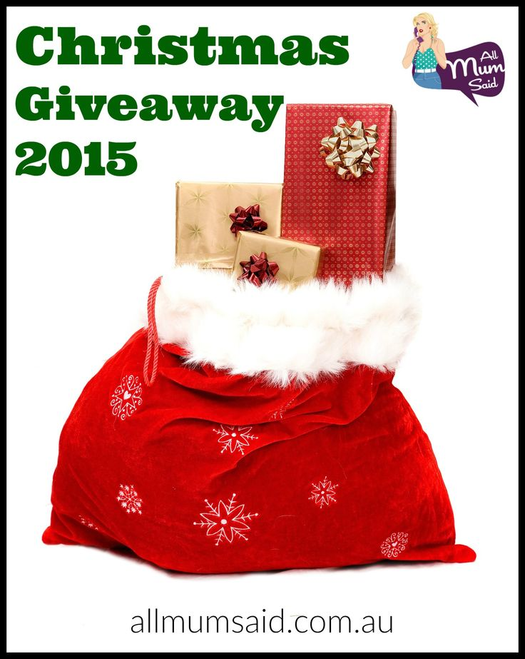 Santa's Sack Christmas Giveaway 2015 - All Mum Said