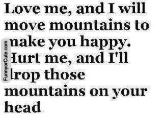 I will move mountains to make you happy #cute #adorable #sweet