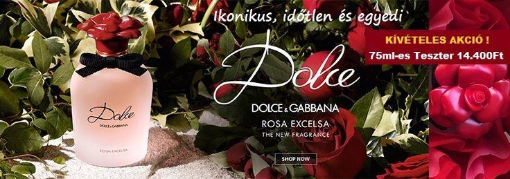 Dolce & Gabbana Dolce Rosa Excelsa női parfüm  Ikonikus, időtlen és egyedi.   http://www.parfumdivat.hu/parfumdivathazak/dolce-gabban-dolce-rosa-excelsa-noi-parfumok.html