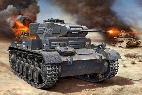German Light Tank: PzKpfw II/B