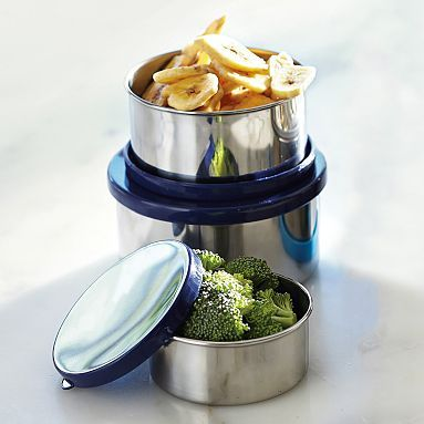 stainless steel storage containers, small, PB teen