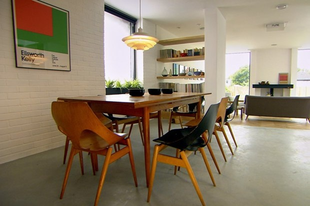 Scandinavian Design House from the scandinavian house on grand designs - fantastic use of