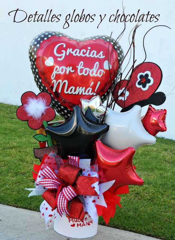 """Regadera """"Detalles globos y chocolates"""""""