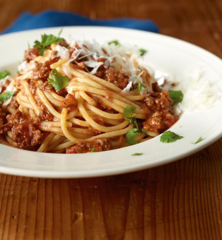 Rezept: Spaghetti Bolognese