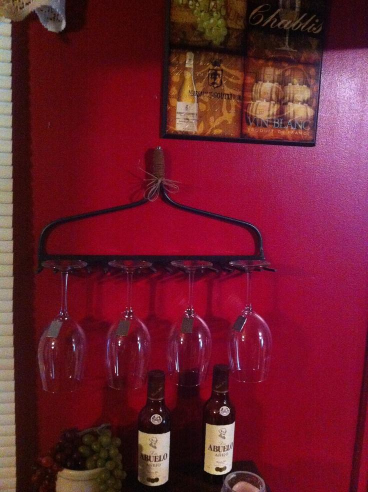 Wine glass holder :)