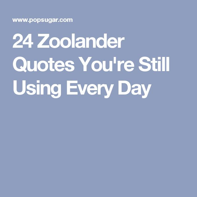 derek zoolander quotes - photo #22