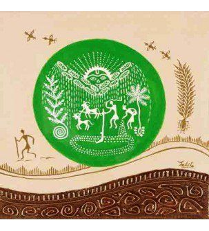 Farming Warli Painting