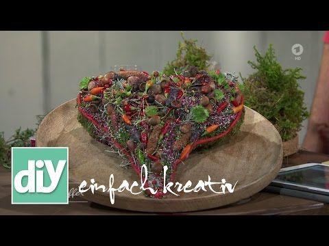 Gebundenes Herz   DIY einfach kreativ! - YouTube