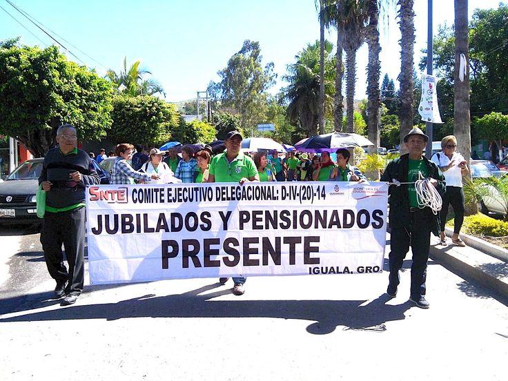 Más de seis mil jubilados marchan en Chilpancingo - http://notimundo.com.mx/mexico/mas-de-seis-mil-jubilados-marchan-en-chilpancingo/17040