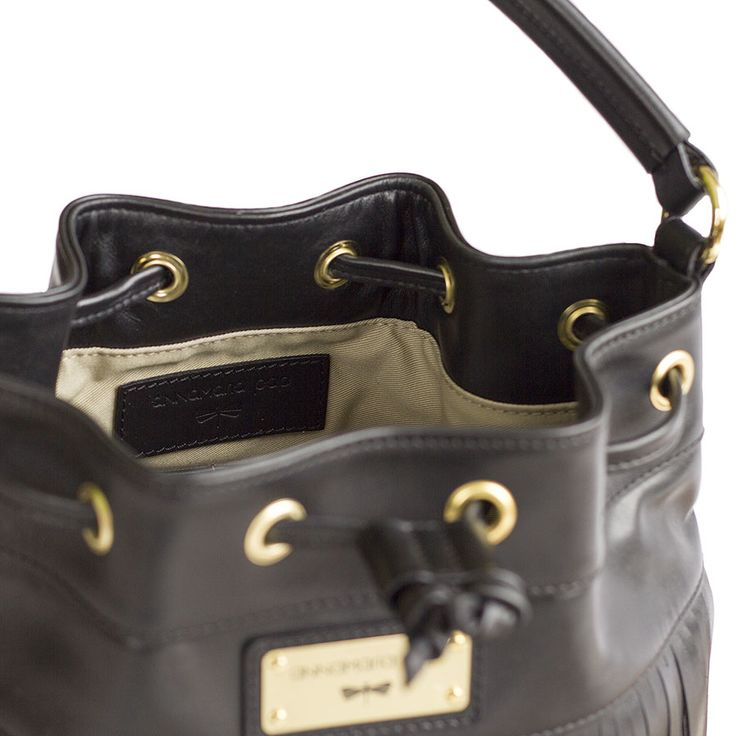 PURE leather bucket bag - designed by Annamaria Pap