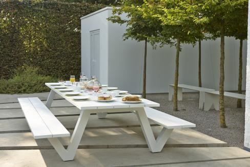Norma picknick tafel - Overstock Garden Tuinmeubelen