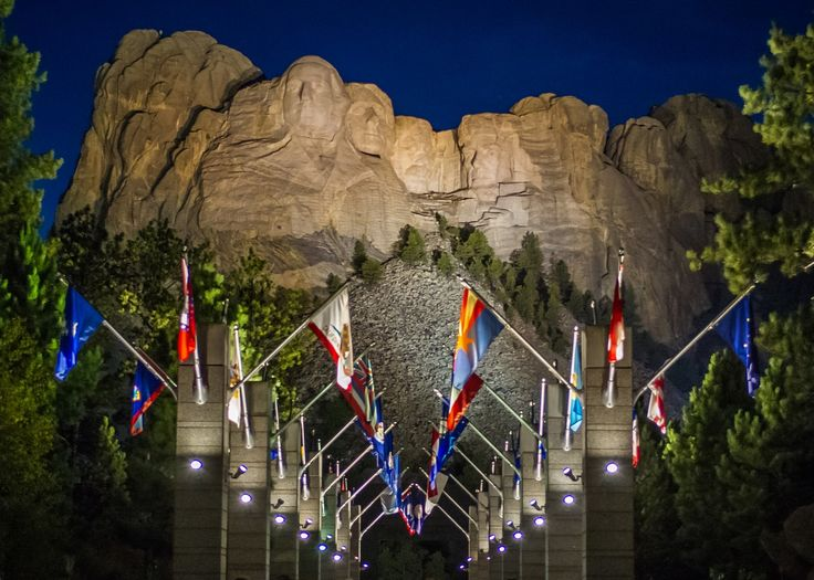 Did you know that there's a hidden room behind Abraham Lincoln's head at Mount Rushmore National Memorial in South Dakota? How about the Native American name for the mountain? Did you know that Washington's nose is 21 feet long? Find out more fun facts and interesting stories about the awe-inspiring Mount Rushmore.
