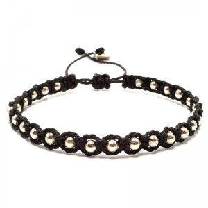 men macrame bracelet