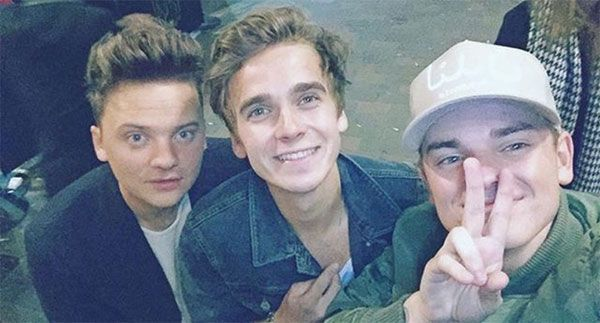 There's just too much perfection in one photo here Conor Maynard, Joe sugg and Jack Maynard