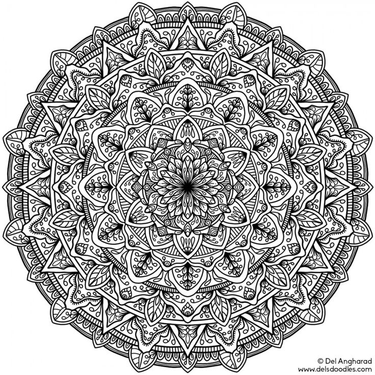 18 best mandala images on Pinterest Mandalas Mandala design and