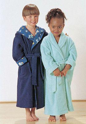 Kinder-Bademantel, burda style
