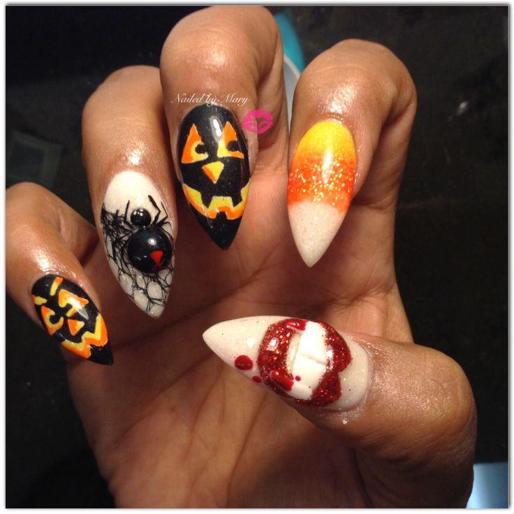 Vampire Sharp Nails