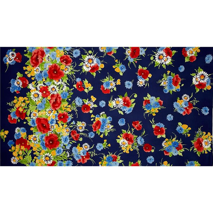 Michael Miller Vintage Florals Bette Navy from @fabricdotcom  Designed for Michael Miller, this cotton print fabric is perfect for quilting, apparel and home decor accents. Colors include black, yellow, white, shades of blue, shades of red, shades of green, and shades of orange.