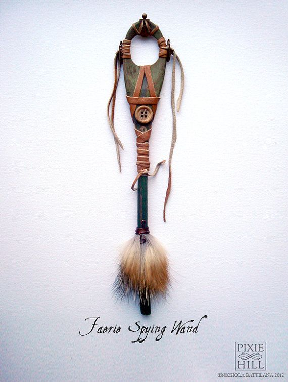Faerie Spying Spoon Wand