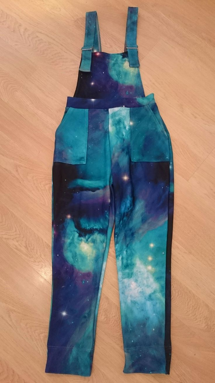 Unreleased teal galaxy toastie overalls from the Nov 16 Black Milk Clothing sample sale