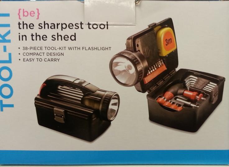 38 piece tool & flashlight kit - R189.99 from Clicks